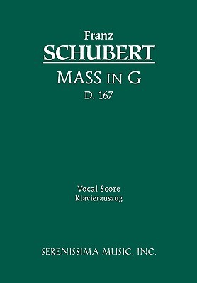 Mass in G, D. 167 - Vocal Score by Franz Schubert