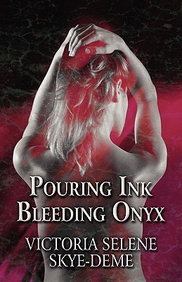 Pouring Ink Bleeding Onyx by Victoria Selene Skye-Deme