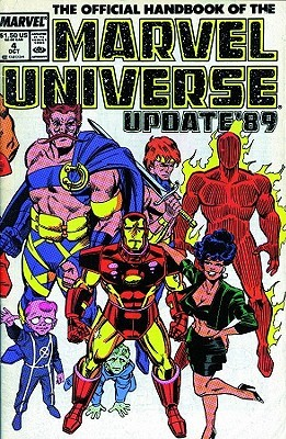 Essential Official Handbook of the Marvel Universe - Update 89, Vol. 1