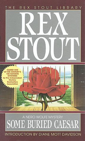 Some Buried Caesar by Rex Stout