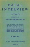 Fatal Interview by Edna St. Vincent Millay