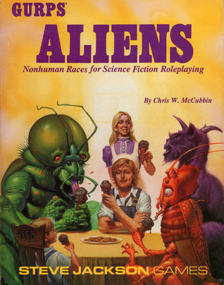 GURPS Aliens: Nonhuman Races for Science Fiction Roleplaying