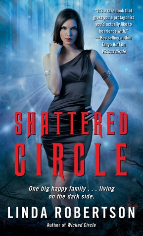 Review: Shattered Circle by Linda Robertson