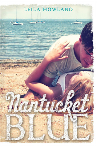 Book Cover Nantucket Blue by Leila Howland