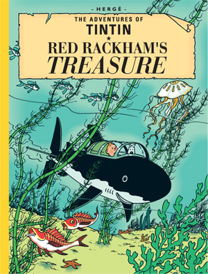 Red Rackham's Treasure by Hergé