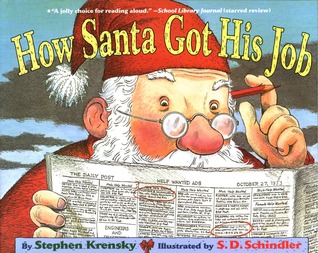 How Santa Got His Job by Stephen Krensky