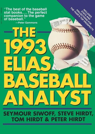 1993 Elias Baseball Analyst