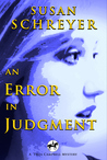 An Error in Judgment by Susan Schreyer