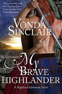 My Brave Highlander by Vonda Sinclair