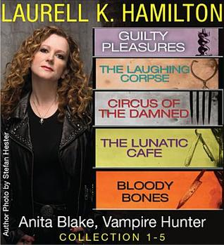 Anita Blake, Vampire Hunter Collection 1-5 by Laurell K. Hamilton