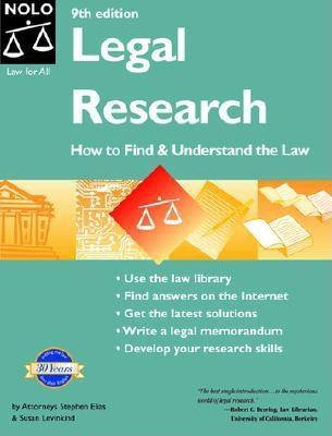 Legal Research: How to Find&Understand the Law (Legal Research)
