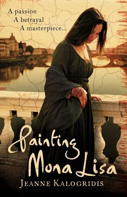 Painting Mona Lisa by Jeanne Kalogridis