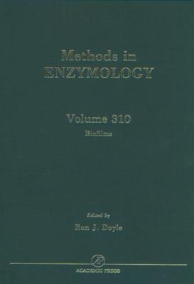 Methods in Enzymology, Volume 310: Biofilms