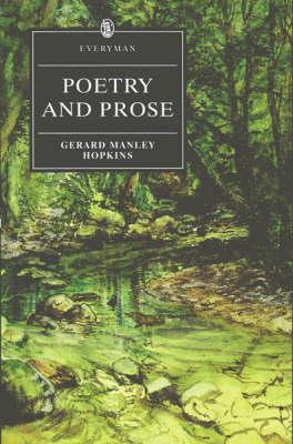Poetry and Prose (Everyman's Library by Gerard Manley Hopkins