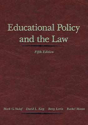 Educational Policy and the Law
