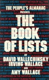 The People's Almanac Presents the Book of Lists by David Wallechinsky