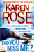 Did You Miss Me? (Romantic Suspense, #14) (Baltimore Series, #3)