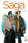 Saga #1 by Brian K. Vaughan