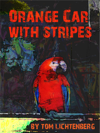Orange Car With Stripes by Tom Lichtenberg