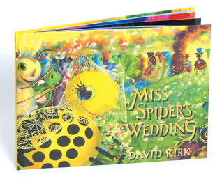 Miss Spider's Wedding by David Kirk