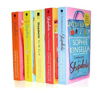 Sophie Kinsella's Shopaholic 5-Book Bundle: Confessions of a Shopaholic, Shopaholic Takes Manhattan, Shopaholic Ties the Knot, Shopaholic & Sister, Shopaholic & Baby