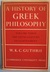 A History of Greek Philosophy 3: The Fifth-Century Enlightenment