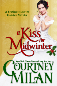 Post thumbnail of Review: A Kiss for Midwinter by Courtney Milan