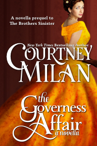 Post Thumbnail of Review: The Governess Affair by Courtney Milan