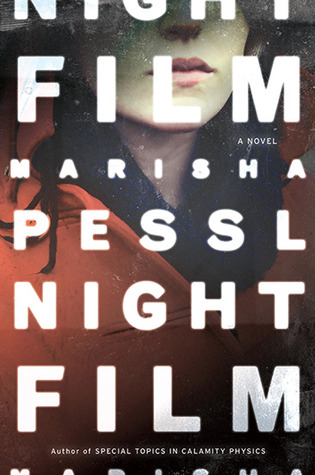 The cover of night film