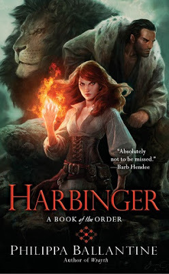 Review: Harbinger by Philippa Ballantine