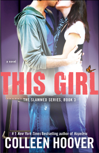 4 stars to This Girl (Slammed #3) by Colleen Hoover