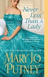 Never Less Than a Lady (Lost Lords, #2)