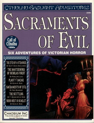 Sacraments of Evil by Scott David Aniolowski