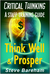 Think Well & Prosper Critical Thinking by Steve Bareham