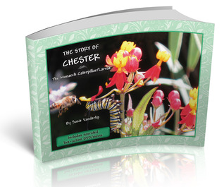 The Story of Chester the Monarch Caterpillar Larva