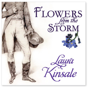 Flowers from the Storm by Laura Kinsale (audiobook)