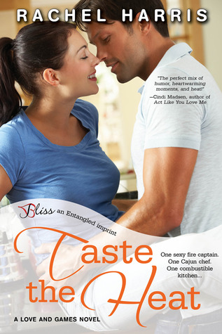 Post thumbnail of Review: Taste the Heat by Rachel Harris