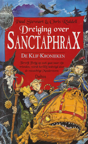 Dreiging over Sanctaphrax by Paul Stewart