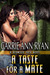 A Taste for a Mate (Redwood Pack, #2)