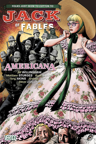 Graphic Novel Review: Jack of Fables 4: Americana