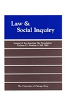 Law & Social Inquiry: Journal of the American Bar Foundation (Vol. 17, No. 4; Fall 1992)