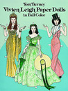 Vivien Leigh Paper Dolls in Full Color