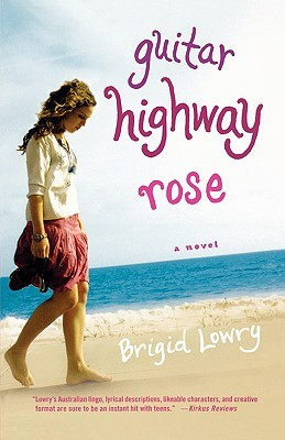 Guitar Highway Rose by Brigid Lowry