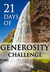 21 Days of Generosity Challenge by C.J. Hitz