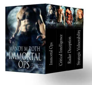 Immortal Ops Box Set Books 1-4 (Shifter Romances)