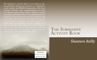The Submissive Activity Book by Shannon Reilly