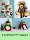 Christmas Knit Pattern Bundle (Amy Gaines Pattern Collections)