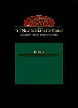 New Interpreter's Bible Index by Abingdon Press