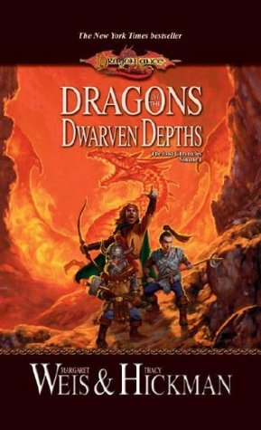 Dragons of the Dwarven Depths by Margaret Weis