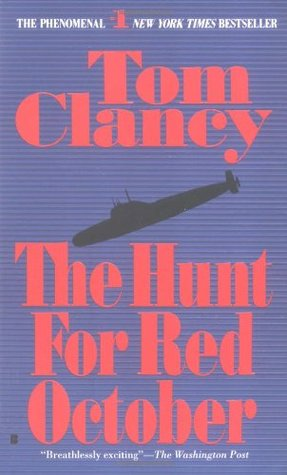 The Hunt for Red October by Tom Clancy